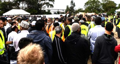 Thousands Stage Silent March For NewZealand Attack Victims
