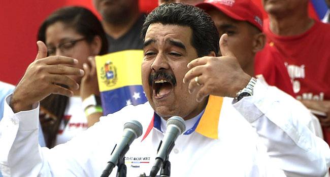 Maduro Accuses USOf Financing Mercenary 'Plot' Against Him
