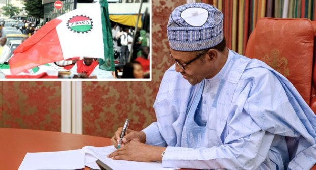 Minimum Wage: NLC Praises Buhari For 'Doing The Needful', Demands Immediate Implementation