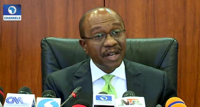 A file photo of CBN Governor, Godwin Emefiele.