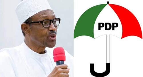 Image result for Investigate N26.7tn, $322m, N500bn Loot Of - Buhari's Administration , PDP Charges NASS