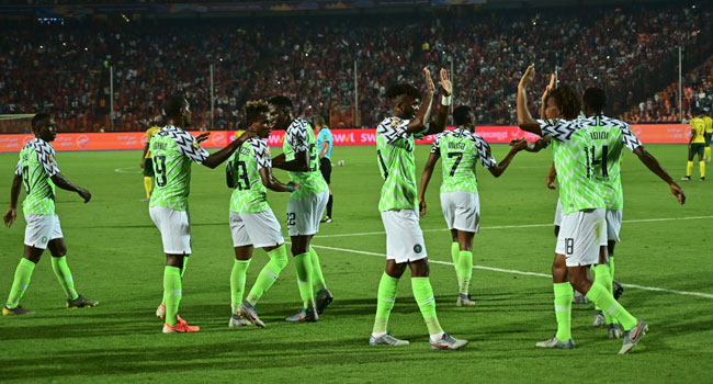 Super Eagles Fly Past Bafana Bafana To AFCON Semis – Channels Television 1