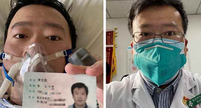 Li Wenliang, a 34-year-old doctor working in Wuhan, warned others about the virus before it became global knowledge. Photo Credit: Global Times