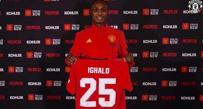 Ighalo joined Manchester United in a surprise move at the close of the January 2020 transfer window,