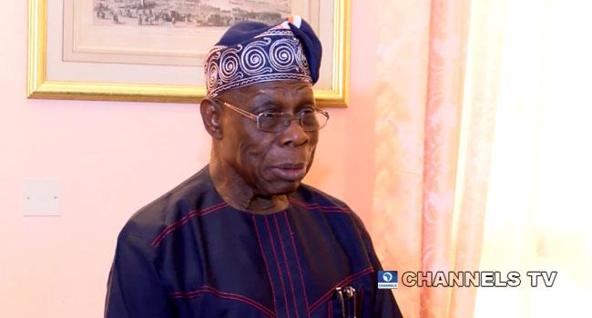 A file photo of former President Olusegun Obasanjo