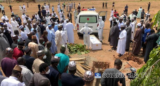 Abba Kyari was buried in Abuja on April 18, 2020.