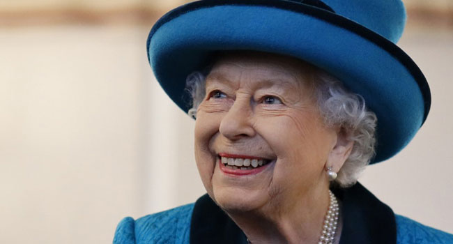 A file photo of Britain's Queen Elizabeth II.