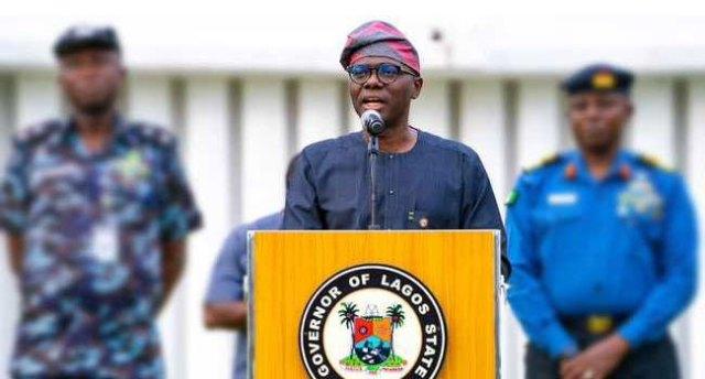 A file photo of Lagos state Governor, Babajide Sanwo-Olu.
