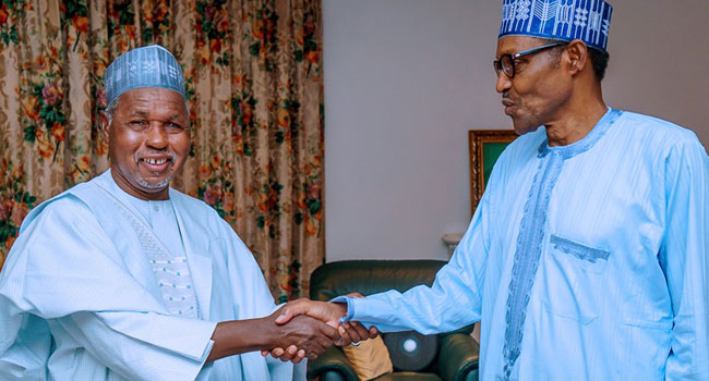 Buhari Meets Masari, Assures Of More Efforts To Improve Security – Channels  Television