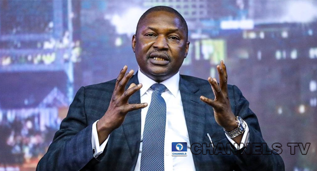 Attorney General of the Federation, Abubakar Malami, made an appearance on Channels Television on June 30, 2020.