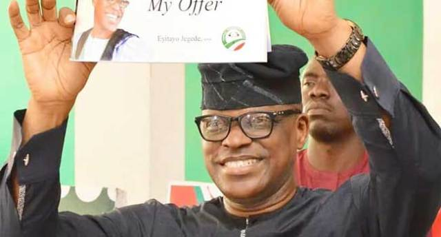 Eyitayo Jegede Wins Ondo PDP Primary – Channels Television