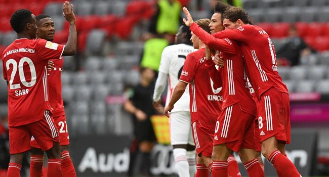 Eintracht Frankfurt Troll Barcelona Despite Loss To Bayern Munich