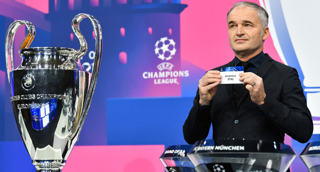 Liverpool face Leipzig and Barca face PSG in Champions League last 16