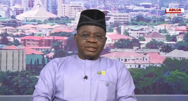 President of the Nigeria Medical Association (NMA). Professor Innocent Ujah, appeared on Sunrise Daily on December 28, 2020.