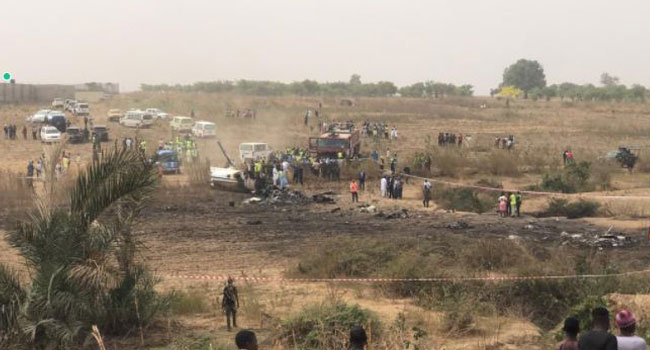 8 persons feared dead as Plane Crashes In Abuja Moments ago – Watch video
