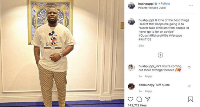 Ramon Abbas, aka Hushpuppi, flaunted a luxury Richard Mille watch on Instagram on January 13, 2020. Credit: US Department of Justice