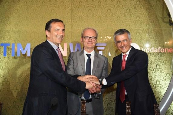 Partnership TIM – Vodafone