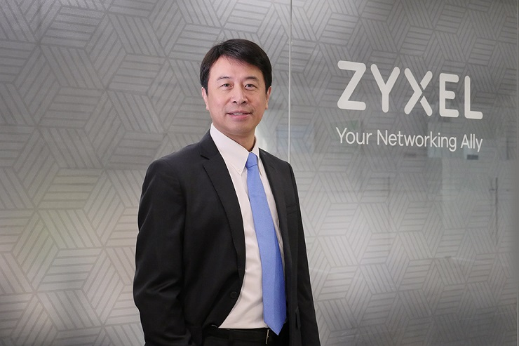 Brian Tien è vicepresidente Global Sales & Marketing di Zyxel Networks