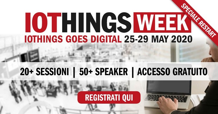 Innovability lancia IOTHINGS WEEK