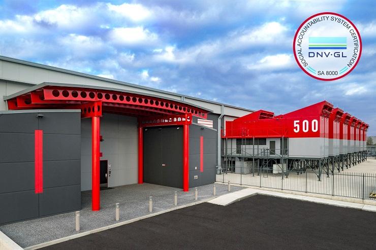 Supernap Italia ha ottenuto la certificazione SA 8000