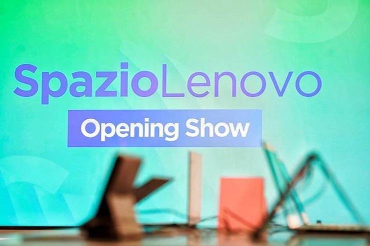 Spazio Lenovo: il 15 settembre va in scena lo show