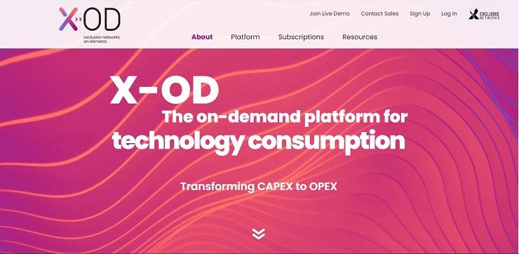 Exclusive Networks lancia X-OD. Vince l'abbonamento