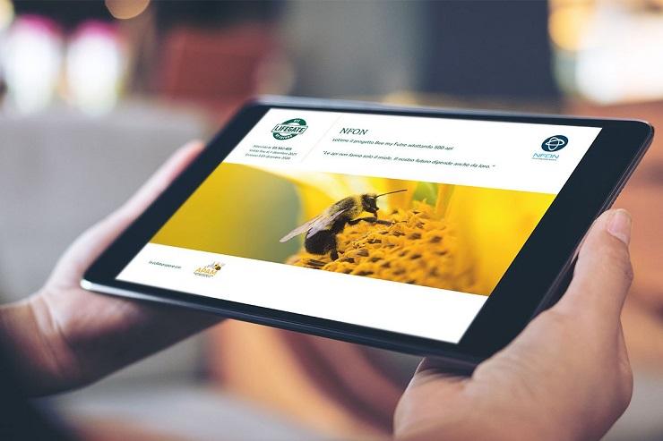 Nfon supporta Bee my Future di Lifegate e coinvolge i partner