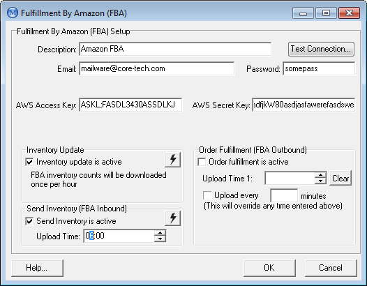 Amazon FBA Setup