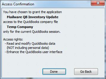 AccessConfirmation