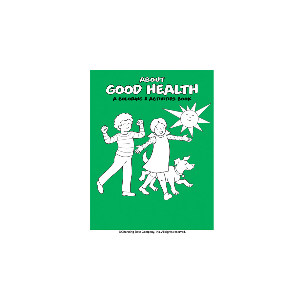 Good Health A Coloring Amp Activities Book