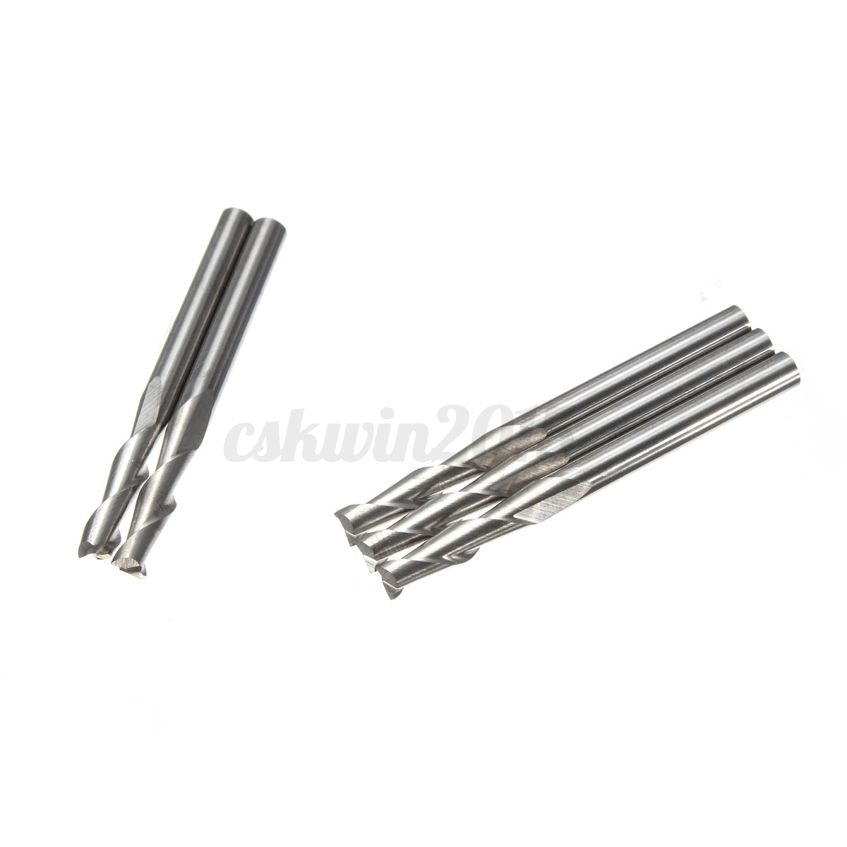 10x 1 8 Two Flute Carbide Flat Nose Engraving Cnc Router