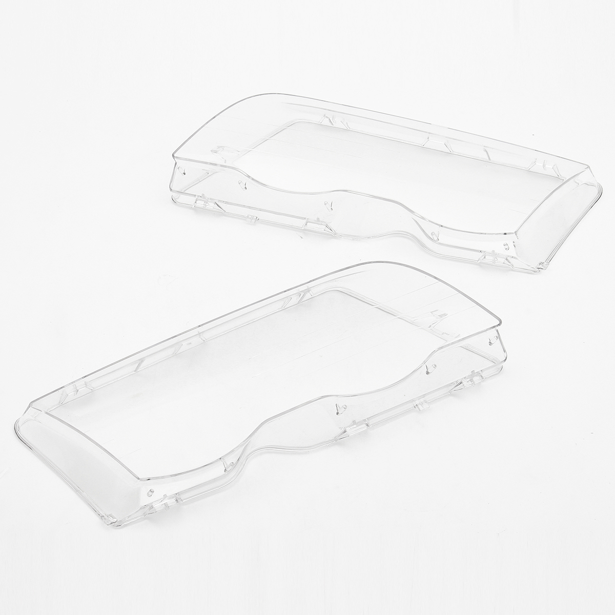 2x Front Headlight Headlamp Clear Lens Cover For Bmw E46 3