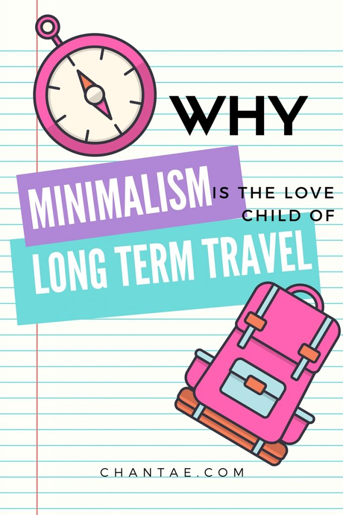 Do minimalism and travel go hand in hand? Click to read about why I think so!