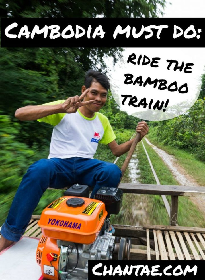 What's it like riding the bamboo train in Battambang, Cambodia? Click to read tips!