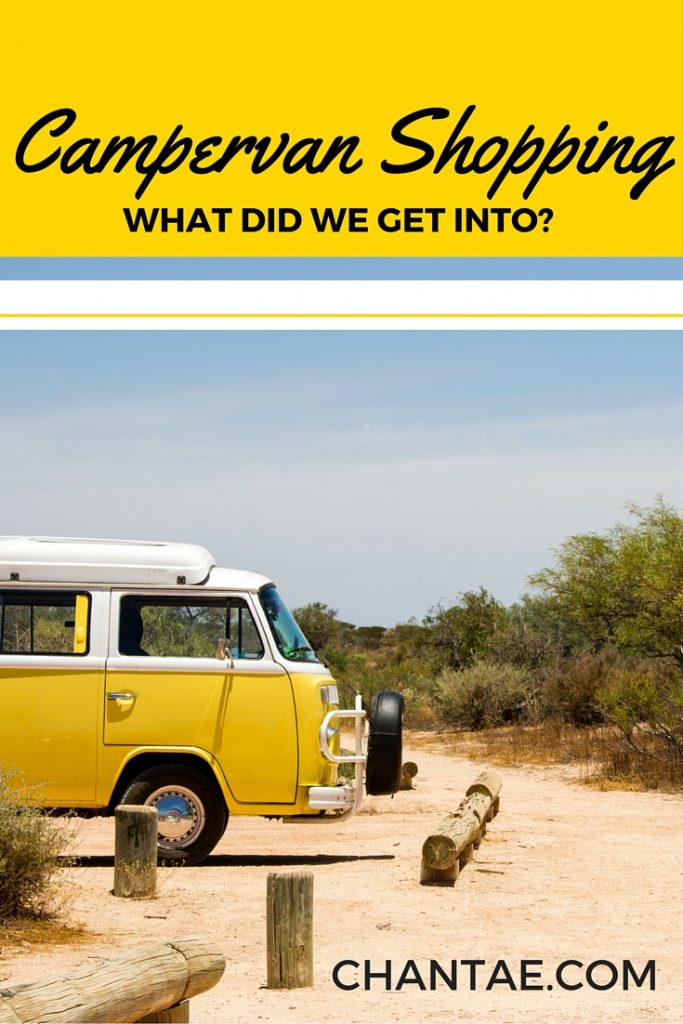 Campervan Shopping: See our criteria, and find out what went wrong.