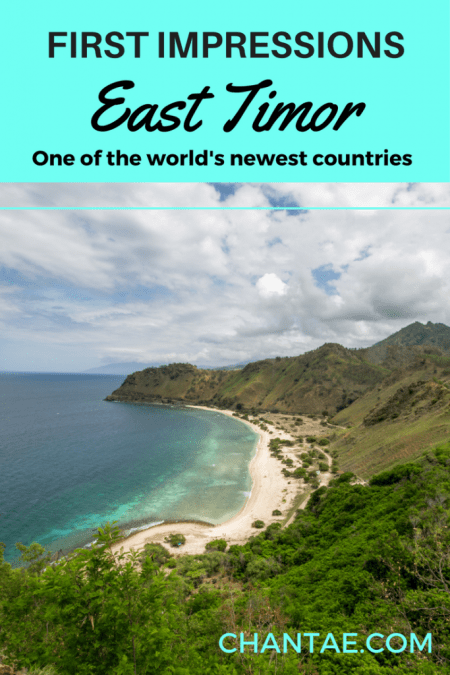 Did you know that East Timor is one of the world's newest and least traveled to countries? Find out what my first impressions of East Timor were.