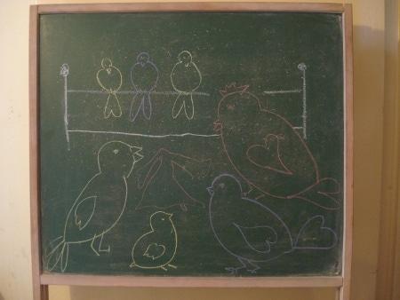 St Valentin des oiseaux