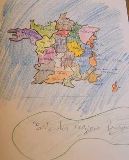 Carte des régions françaises