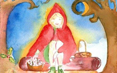 Petite Elfe rencontre le roi Houx