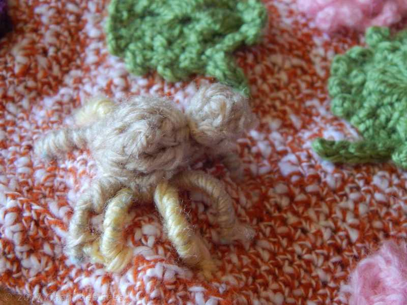 Motifs nature au tricot et au crochet