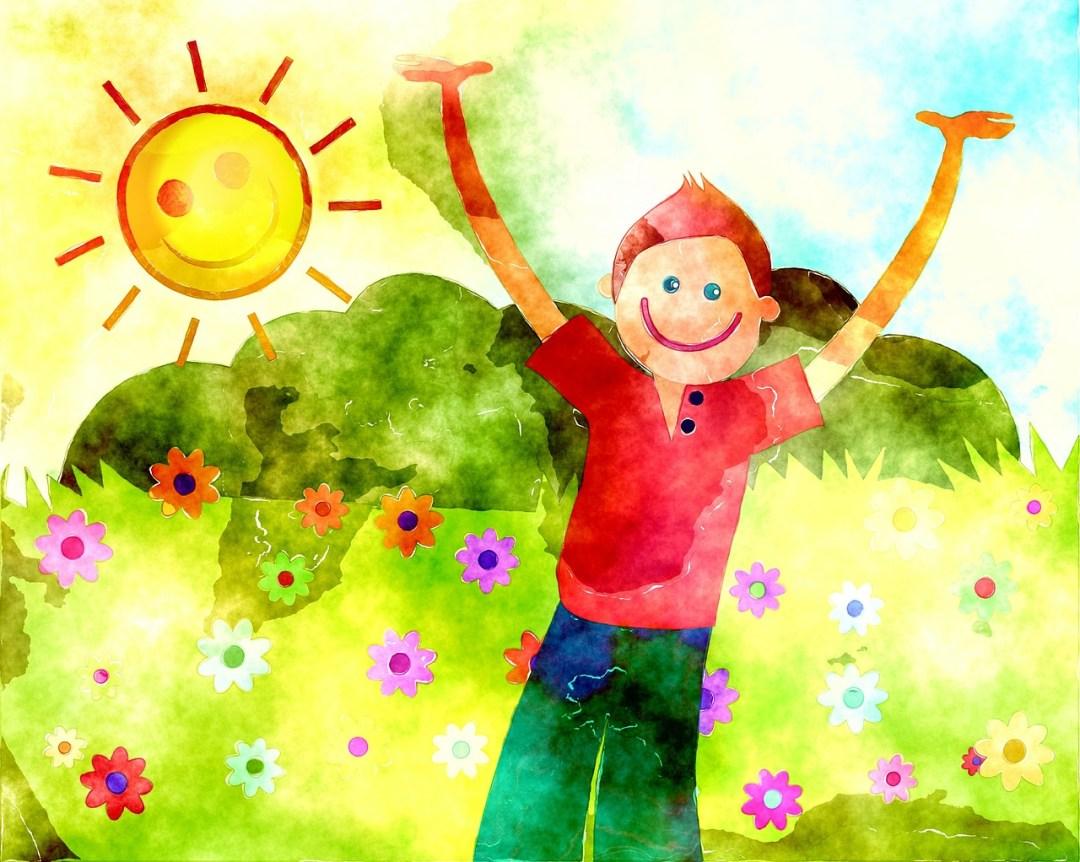 Optimiste, sociable et facilement distrait: l'enfant sanguin