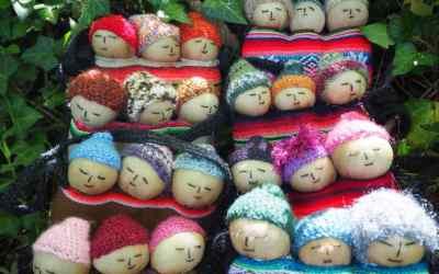 Tutoriel de poupées boliviennes «Quita penas»