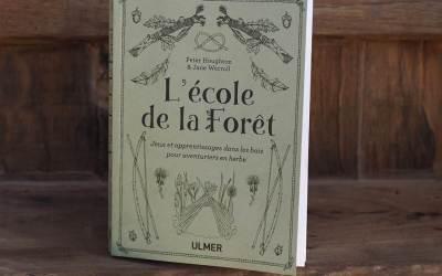 L'éblouissant L'école de la forêt, premier livre du genre en français !