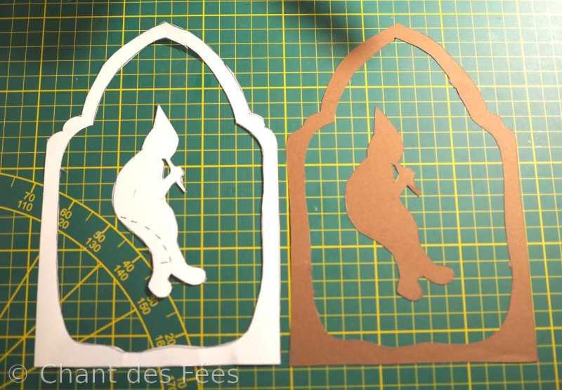 transparent du gnome joueur de flûte