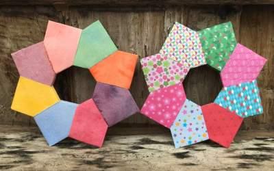 Jour 4 : Comment créer un ornement en papier plié  ?