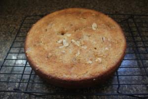 Plum cake done