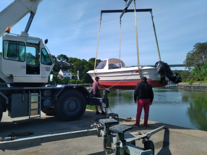 manutention bateau