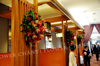 A9欣葉 紅色婚禮 - chanti flower