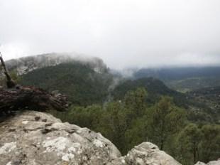 Erste schöne Aussicht auf das zurückliegende Tal von Esporles