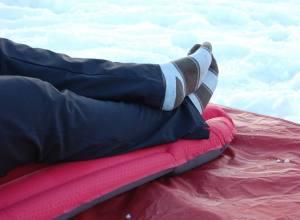 Winterlite Exped: Das Ding hält warm bei bis zu -17 Grad.